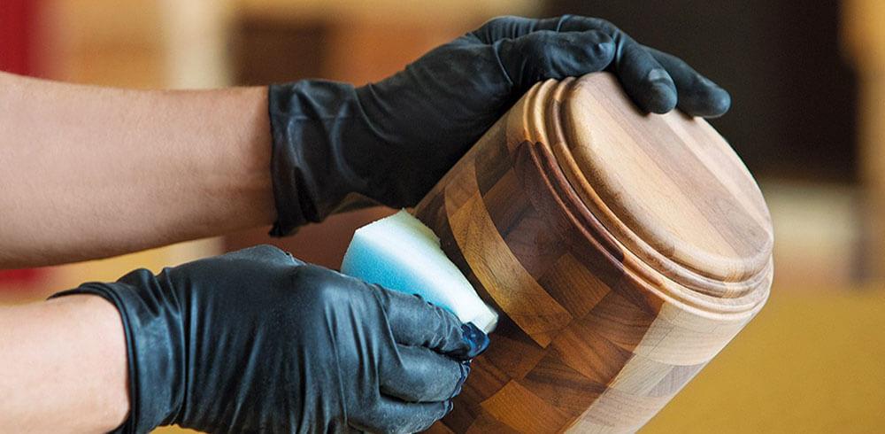 EM - Urne in legno | Lavorazione