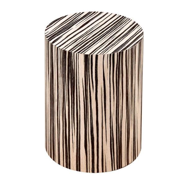 Urna cineraria in legno Maestrale Zebrano chiaro