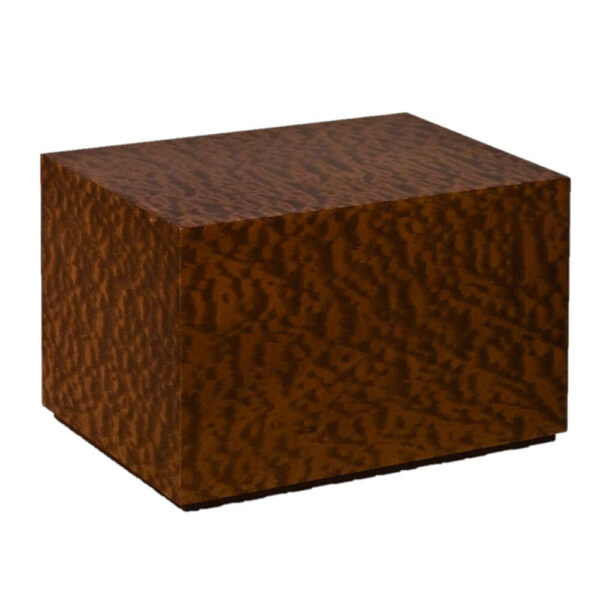 Urna cineraria in legno Scirocco Mogano Pomelé